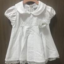 Vestido branco - 6 a 9 meses - ZigMundi