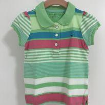 Camisa Blusa Polo Tommy Hilfiger - 12 a 18 meses - Tommy Hilfiger