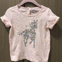 Camiseta Blusa salmão GAP - 18 a 24 meses - Baby Gap