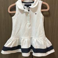 Vestido Polo branco Tommy Hilfiger - 12 a 18 meses - Tommy Hilfiger