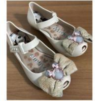 Sapato Bege Mickey - 25 - Grendene