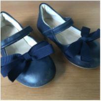 Sapato Azul Marinho com laço - 25 - Bibi