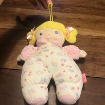 Boneca com Chocalho para bebê -  - Buba