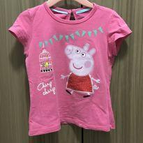 Camiseta rosa da Peppa - 3 anos - Riachuelo