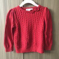 Blusa de lã vermelha