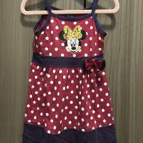 Vestido de bolinhas Minnie - 2 anos - Disney e Pernambucanas
