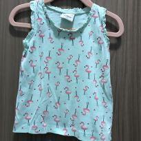 Camisa regata Flamingo - 2 anos - Poim