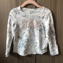 Camiseta Blusa GAP estampada - 3 anos - Baby Gap