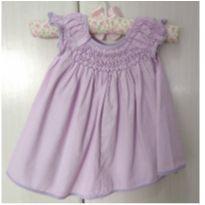 Fofura - vestidinho para bebês de 0-3 meses - 0 a 3 meses - Não informada