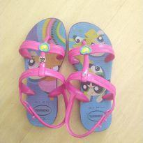 Havaianas estilo sandalinha das meninas superpoderosas - 31 - Havaianas