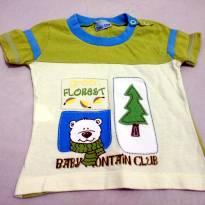 Camiseta Ursinho - 3 meses - Baby Way