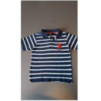 Camiseta polo listrada - 4 anos - US Polo Assn