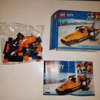 LEGO CITY SPEED RECORD CAR - Sem faixa etaria - Lego