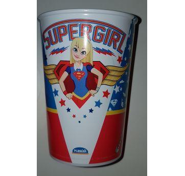 KIT BRINDE COM 9 COPOS SUPERHERO GIRLS - Sem faixa etaria - Plasútil
