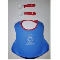BABY BJORN KIT BABADOR SILICONE E 2 COLHERES -  - Baby Björn