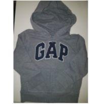 GAP CASACO CINZA COM CAPUZ - 3 anos - Baby Gap