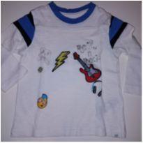 BABY GAP BLUSINHA MANGA COMPRIDA - 12 a 18 meses - Baby Gap