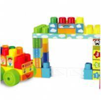 BLOCOS DE MONTAR TERMINAL DE ÔNIBUS -  - New Toys