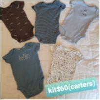 Kit body carter`s - Recém Nascido - Carter`s