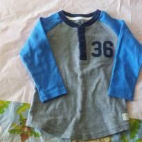 Blusa de manga comprida importada - 2 anos - Carter`s