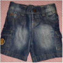 Short jeans - 12 a 18 meses - Tigor Baby