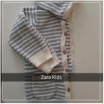 Casaco de linha com capuz - 3 anos - Zara Baby