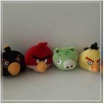 Coleção com 6 bonecos Angry birds de pelúcia (026) -  - Não informada