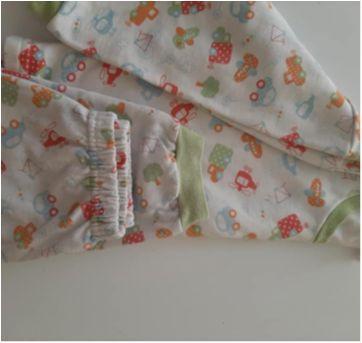 Pijama manga comprida flanelado - 2 anos - Não informada