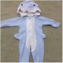 Macacão baby shark - 3 a 6 meses - Upi Uli