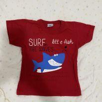 Camiseta do tubarão - 1 ano - Sem marca