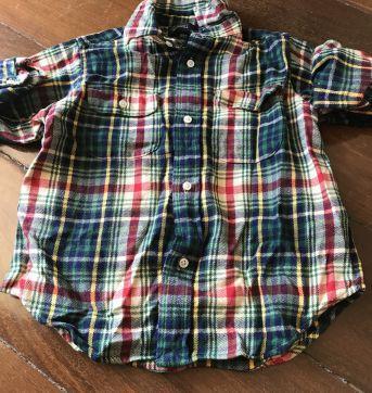 Blusa xadrez para festa junina - 3 anos - Ralph Lauren