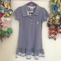 Vestido Gola Polo - 4 anos - Golfe Kids