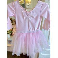 Vestido de Balê H & M Tam. 4/5 - 5 anos - Sem marca