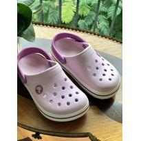 Crocs Rosa claro tam. 10 c - 28 - Crocs