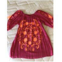 Vestido Prayah Tam. 4 - 4 anos - Não informada