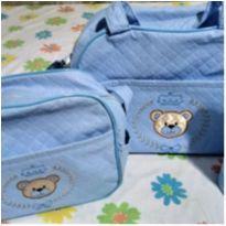 Kit bolsa urso Príncipe -  - Mappyng Baby