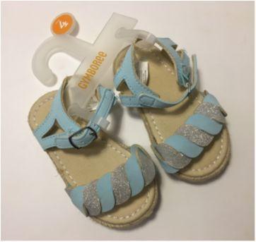 Sandália para meninas - 18 - Gymboree