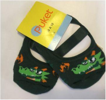 Meia sapatilha Pucket - 9 meses - Puket