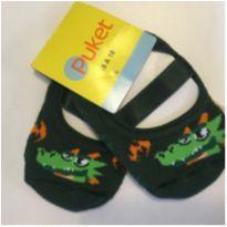 Meia sapatilha Puket - 6 a 9 meses - Puket