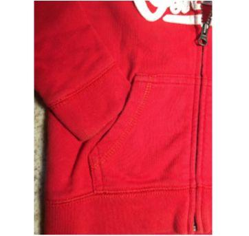 Blusa de moletom com touca Oshkosh - 9 a 12 meses - OshKosh