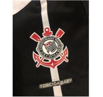 Uniforme do timão - Vai Corinthians - 6 a 9 meses - Torcida baby  oficial
