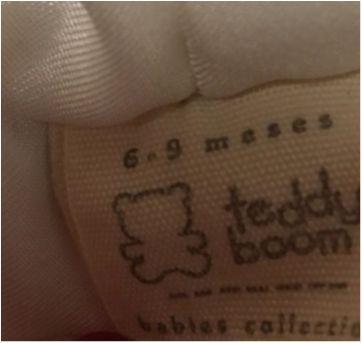Macacão ovelhinha - 6 a 9 meses - Teddy Boom