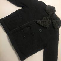 Casaco jeans preto Oshkosh - 12 a 18 meses - OshKosh