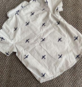 Camisa aviões do bebê aviador 18 a 24 meses - 18 a 24 meses - Gymboree