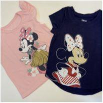 Blusinhas Minnie Mouse - 12 a 18 meses - Jumping Beans