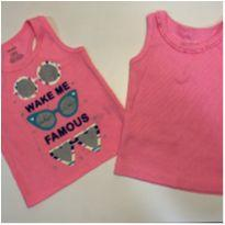 Regata rosa neon Carter's - 12 a 18 meses - Carter`s