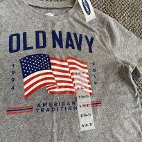 Camiseta old navy 6-7 - 6 anos - Old Navy