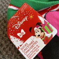 Meias da Minnie mouse - 3 anos - Disney