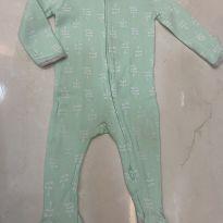 Pijama verde fresquinho - 6 a 9 meses - Importada