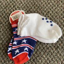 Kit com 2 meias fofuxas - 12 a 18 meses - Duds BB